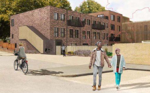 Demolition marks the start of work in Sydenham for Lewisham Homes