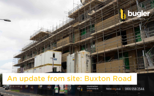 An update from site: Buxton Road
