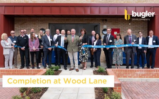 Completion at Wood Lane