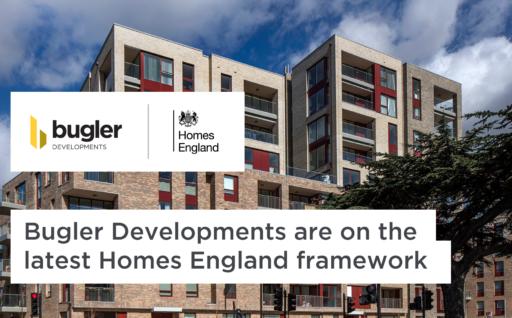 Bugler Developments are on the latest Homes England Framework