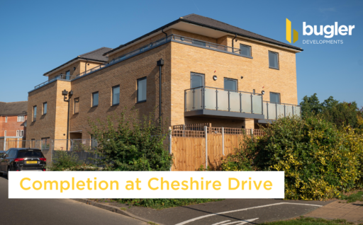 Completion at Cheshire Drive