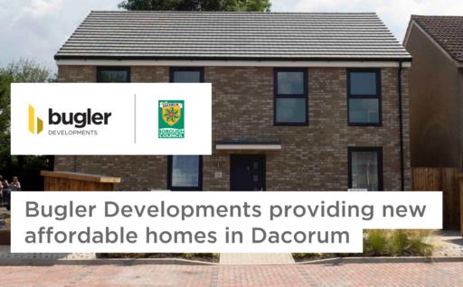 Bugler Developments providing new, affordable homes in Dacorum